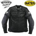 在庫処分 【サイズ交換不可】BATES BAJ-P130TT ベイツ 2Wayパンチドホールレザージャケット 【BLACK/M】 Punched Hole Leather Jackets