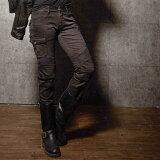 【uglyBROS】 MOTO PANTS MOTORPOOL GREY-Girl (Cargo Pants) アグリブロス モトパンツ モータープール ライディングカーゴデニム アグリーブロス ライディングジーンズ バイク用 パンツ