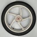 スーパーカブ110用 ホイールタイヤセット ホンダ純正ホイール+シンコー製タイヤ HONDA SHINKO リアホイール