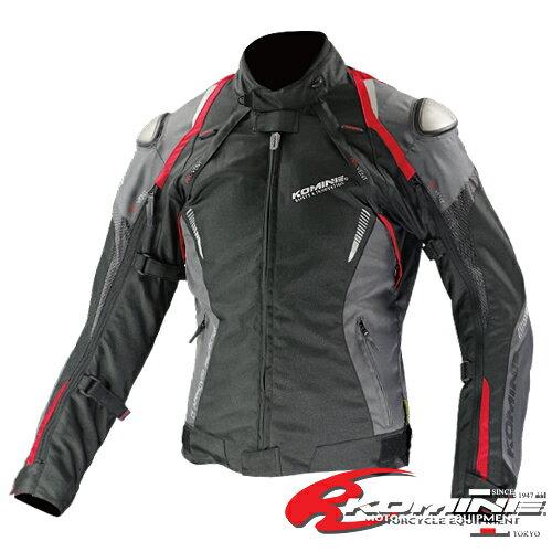 コミネ JK-580 フルイヤーチタニウムジャケット-フヒト KOMINE 07-580 バイクジャケット