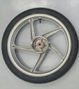スーパーカブ110用 ホイールタイヤセット ホンダ純正ホイール+シンコー製タイヤ HONDA SHINKO