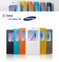 GALAXY S6 Edge ケース SAMSUNG 純正品 S VIEWカバー SC-05G 手帳 ギャラクシーs6 エッジ
