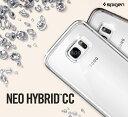 Galaxy S7 edge ケース 防水ケース ネオハイブリッド Spigen ギャラクシーs7 エッジ カバー おしゃれ ハードケース クリア