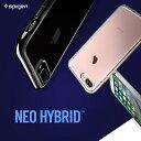 iPhone7 ケース iphone7plus スマホケース SGP Spigen NEO HYBRID Crystal アイフォン7 アイフォン 7 プラス ハード ケース/スマホカバー/スマートフォン/apple/アップル/バンパー/シリコン