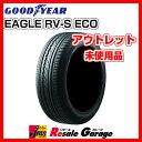 サマータイヤ 4本セット [ 195/65R15 グッドイヤー RV-S ECO ] ( 15インチ 夏タイヤ アウトレット ジェームス 195/65-15 )【中古】(未使用品)