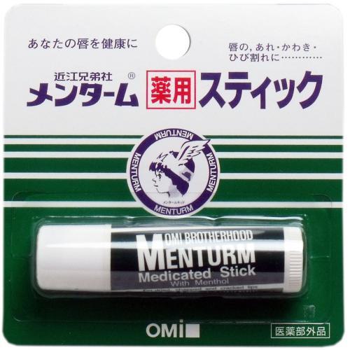 メンターム 薬用スティック リップクリーム レギュラータイプ 医薬部外品