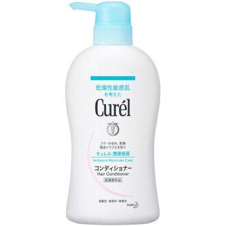 Curel Hair Conditioner Pomp  420ml Quasi-Drug 4901301276100 Kao Japan