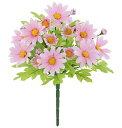 【造花・春の造花・デイジー】フレッシュデイジーブッシュ・ピンク