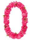 【造花 ・夏の造花 ・ハイビスカス】ハイビスカス/カーネーションレイ(BC付)・ピンク
