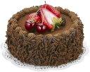 【食品サンプル・ケーキ】チョコレートケーキ(ホール)(フォーム素材)(BC付)...