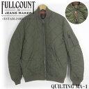 FULLCOUNT フルカウント キルティング MA-1 QUILTING MA-1 2899