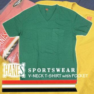 Joenet rakuten global market hanes sportswear hanes for Hanes men s 6pk 3 free v neck shirts white