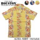 HOUSTON ヒューストン アロハシャツ UKULELE 40274