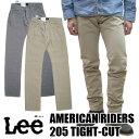 【リー/Lee】Lee AMERICAN RIDERS 205 TIGHT-CUT タイト カット LM4205【送料無料】【smtb-TD】【tohoku】(メンズ/ボトムス/ロングパンツ/オーバーオール/アメカジ/カジュアル)