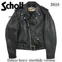 Schott ショット ダブルライダース レザージャケット 618 【送料無料】【smtb-td】「メンズ/アウター/ジャケット/ライダース/牛革」