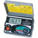 ショッピングアースソフト KYORITSU/共立電気計器 デジタル接地抵抗計 4105Aキューデジタルアース ソフトケース付