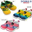【限定セール】ミキハウス ダブルB(DOUBLE.B) ダブルラッセル!サマーベビーセカンドシューズ(子供靴)