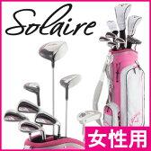 《あす楽》【レディス/女性用】キャロウェイ 2016 SOLAIRE(ソレイル) クラブセット (ピンク、キャディバッグ付き)