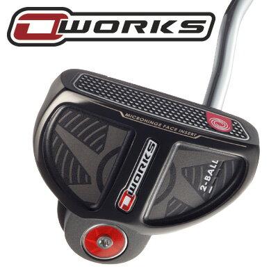 《》オデッセイ O-WORKS(オー・ワークス) 2ボール パター (SS2.0グリップ装着モデル) ODYSSEY O-WORKS 2BALL SS2.0 PUTTER [新品/日本仕様正規品/送料無料]