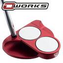 《あす楽》オデッセイ O-WORKS(オー・ワークス) RED 2ボール パター (数量限定モデル)