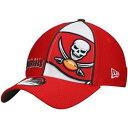 ショッピングラタン ニューエラ NEW ERA 赤 レッド バッカニアーズ ニューエラ タンパベイ 【 RED PANEL 39THIRTY FLEX FIT BUC 】 バッグ キャップ 帽子 メンズキャップ 帽子