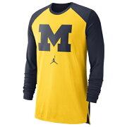 【海外限定】ジョーダン カレッジ l s 長袖 ロングスリーブ メンズ jordan college ls breathe shooter shirt