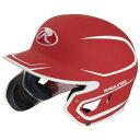 【海外限定】ローリングス バッティング ヘルメット rawlings mach ext 2 tone junior batting helmet grade school スポーツ