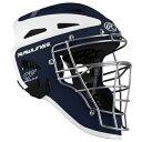 【海外限定】ローリングス catcher's ヘルメット rawlings velo twotone catchers helmet