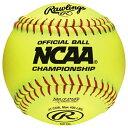 ローリングス RAWLINGS WOMENS レディース NC12L OFFICIAL NCAA FASTPITCH SOFTBALLS アウトドア スポーツ 野球 ボール ソフトボール 送料無料