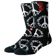 【海外限定】スタンス ソックス 靴下 men's メンズ stance increase the peace crew socks mens