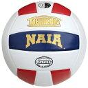 Tachikara タチカラ NAIA Premium Premium プレミアム Leather レザー Volleyball バレーボール 白・ホワイト/Scarlet/navy 紺・ネイビー