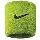 美式足球 - 【3/27 9:59まで!ポイント2倍】【送料無料】Nike Nike ナイキ Swoosh Swoosh スウッシュ・スウォッシュ Wristbands Atomic green 緑・グリーン/black 黒・ブラック