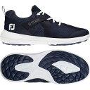 ショッピングゴルフシューズ FOOTJOY メンズ ゴルフ スニーカー 運動靴 【 Mens Flex Golf Shoes 】 Navy