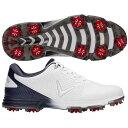 キャロウェイ CALLAWAY ゴルフ スニーカー 運動靴 白色 ホワイト 紺色 ネイビー MEN'S ゴルフスニーカーS スニーカー 【 GOLF CALLAWAY CORONADO WHITE NAVY 】 メンズ スニーカー
