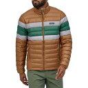 パタゴニア PATAGONIA ダウン トレーナー ジャケット 茶色 ブラウン MEN'S 【 PATAGONIA DOWN SWEATER JACKET BEECH BROWN 】 メンズファッション コート ジャケット