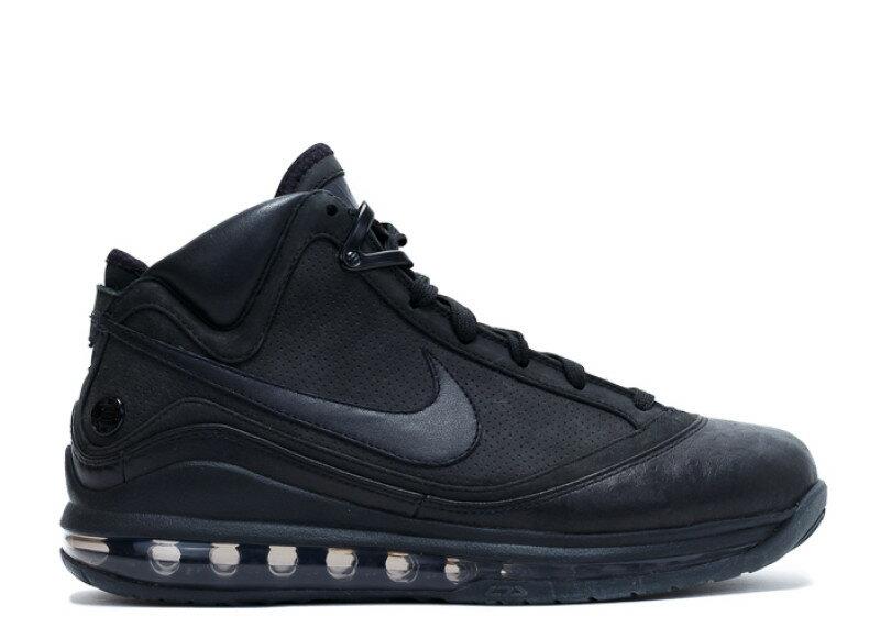 ナイキ NIKE バスケットボール レブロン ジェームズ エアマックス 黒 ブラック BASKETBALL LEBRON JAMES AIR MAX 7 JAY Z ALL BLACK EVERYTHING