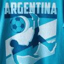 FIFTH SUN アルゼンチン チーム Tシャツ 青 ブルー メンズファッション トップス カットソー メンズ 【 Argentina National Team Jagged Line T-shirt - Heathered Blue 】 Heathered Blue