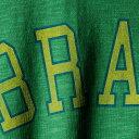 ショッピング半袖 フォーティーセブン '47 カントリー クルー Tシャツ 緑 グリーン '47 【 GREEN BRAZIL COUNTRY SCRUM CREW TSHIRT KELLY 】 メンズファッション トップス Tシャツ カットソー
