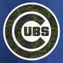 ショッピングソニー マジェスティック MAJESTIC アンソニー シカゴ カブス Tシャツ メンズファッション トップス カットソー メンズ 【 Anthony Rizzo Chicago Cubs Name And Number T-shirt - Camo/blue 】 Camo/blue