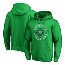 ショッピングパトリック FANATICS BRANDED 緑 グリーン ST. PATRICK'S 【 GREEN FANATICS BRANDED NASHVILLE PREDATORS DAY LUCK TRADITION PULLOVER HOODIE KELLY 】 メンズファッション トップス パーカー