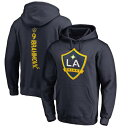 FANATICS BRANDED メンズファッション トップス パーカー メンズ 【 Zlatan Ibrahimovic La Galaxy Backer Pullover Hoodie 】 Navy