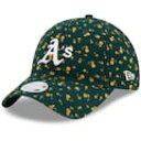 ショッピングニューエラ キャップ NEW ERA エラ オークランド アスレチックス レディース 緑 グリーン ニューエラ WOMEN'S – 【 GREEN FLORAL 9TWENTY ADJUSTABLE HAT 】