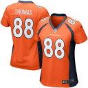 ナイキ NIKE デンバー ブロンコス 子供用 ゲーム ジャージ 橙 オレンジ スポーツ アウトドア アメリカンフットボール ジュニア キッズ 【 Demaryius Thomas Denver Broncos Girls Youth Game Jersey - Orange