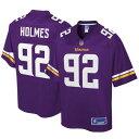 NFL PRO LINE ミネソタ バイキングス ジャージ 紫 パープル スポーツ アウトドア アメリカンフットボール メンズ 【 Jalyn Holmes Minnesota Vikings Big And Tall Player Jersey - Purple 】 Purple