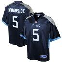 NFL PRO LINE テネシー タイタンズ ジャージ 紺 ネイビー スポーツ アウトドア アメリカンフットボール メンズ 【 Logan Woodside Tennessee Titans Primary Player Jersey - Navy 】 Navy