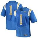 アンダーアーマー UNDER ARMOUR プレミアム ジャージ 青 ブルー #1 スポーツ アウトドア アメリカンフットボール メンズ 【 #1 Ucla Bruins Premier Football Jersey - Blue 】 Blue