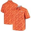 ショッピングTOMMY トミーバハマ デンバー ブロンコス ボタンダウン 橙 オレンジ メンズ 【 ORANGE TOMMY BAHAMA SPORT JUNGLE SHADE CAMP BUTTONDOWN SHIRT 】
