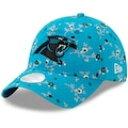 ショッピング996 ニューエラ NEW ERA エラ カロライナ パンサーズ レディース 青色 ブルー ニューエラ WOMEN'S 【 BLOSSOM 9TWENTY ADJUSTABLE HAT BLUE 】 バッグ キャップ 帽子 レディースキャップ 帽子