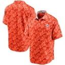 ショッピングTOMMY トミーバハマ マイアミ ドルフィンズ ボタンダウン 橙 オレンジ メンズ 【 ORANGE TOMMY BAHAMA SPORT JUNGLE SHADE CAMP BUTTONDOWN SHIRT 】