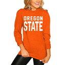 ショッピングレゴ ゲームデイカルチャー オレゴン スケートボード ビーバーズ レディース スリーブ Tシャツ 橙 オレンジ オレゴンステイト WOMEN'S 長袖 【 STATE SLEEVE ORANGE GAMEDAY COUTURE GO FOR IT TSHIRT 】